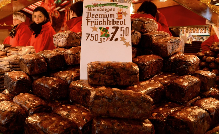 Früchtbrot, pan de frutos. Otra ración de Navidad germana