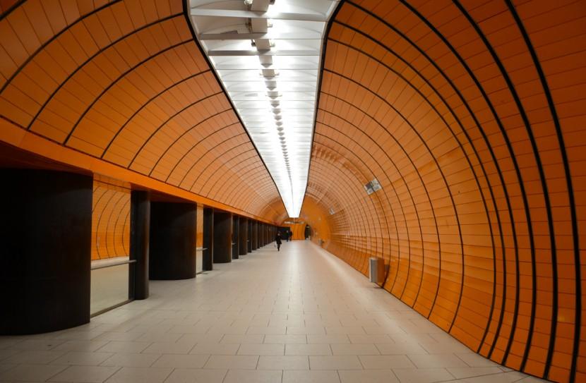 Estación de metro de Marienplatz en Múnich