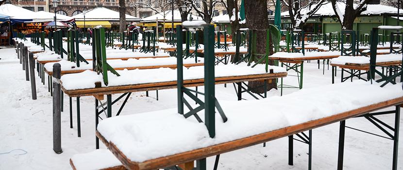 27 de març de 2013. Seguim amb dos pams de neu