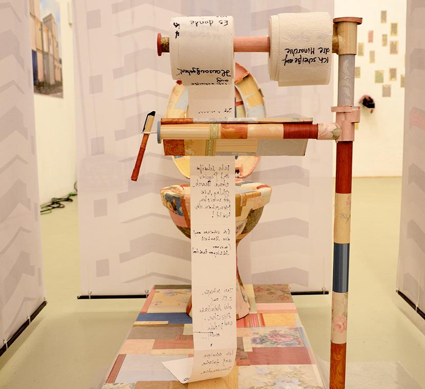 Obra de Montse Vives a BaBel Kunstprojekt