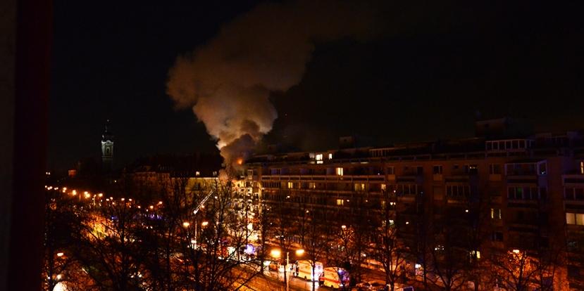 Incendi a Landshuter Allee