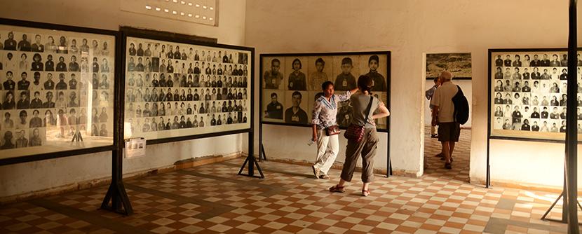 Retratos de las víctimas, por sus verdugos