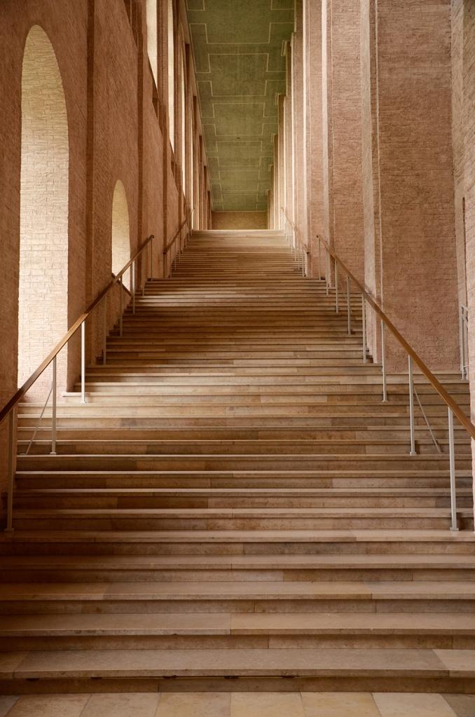 Escala d'accés a les sales de l'Alte
