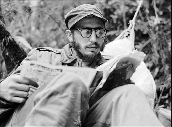 Fidel Castro, en la sierra cubana en 1959. /WEB