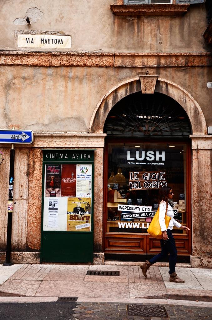 Trento: comercio