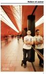 Retrato que me hizo en el metro de Marienplatz, introductorio al libro. /LUCÍA CELDRÁN