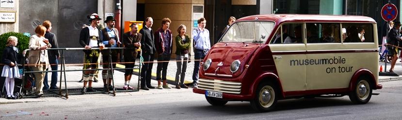Un Audi histórico, Audi al fin y al cabo, en el desfile de Oktoberfest