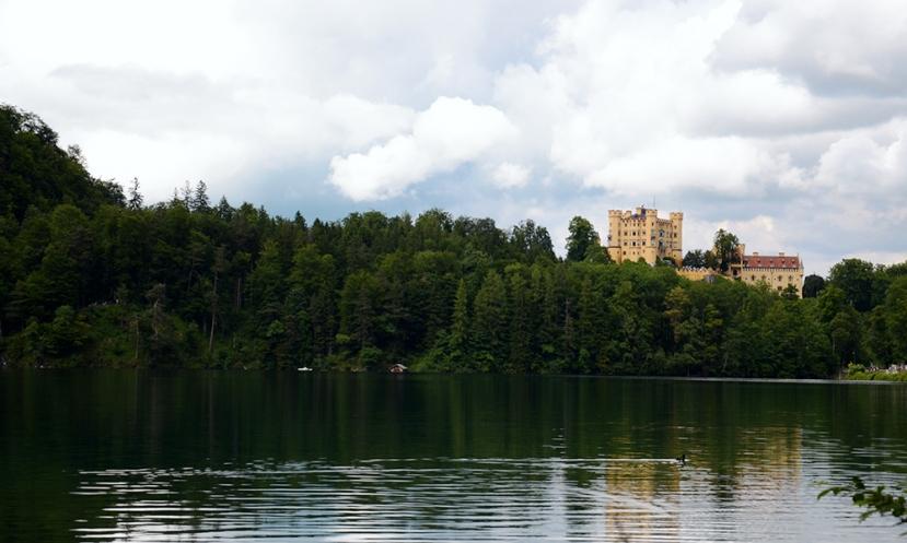 L'Alpsee i el castell de Hohenschwangau