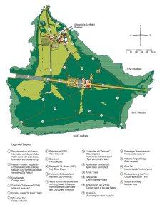 Plano de situación de la Herreninsel
