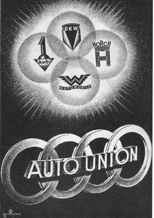 Nacimiento de Auto Union. /WEB