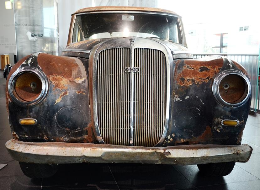 Un coche muy especial: Horch histórico rescatado hace unos años en Texas