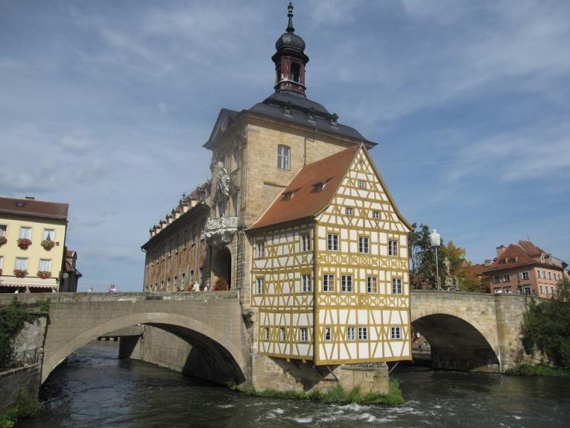 Antiguo Ayuntamiento de Bamberg. /CC BERNT ROSTAD
