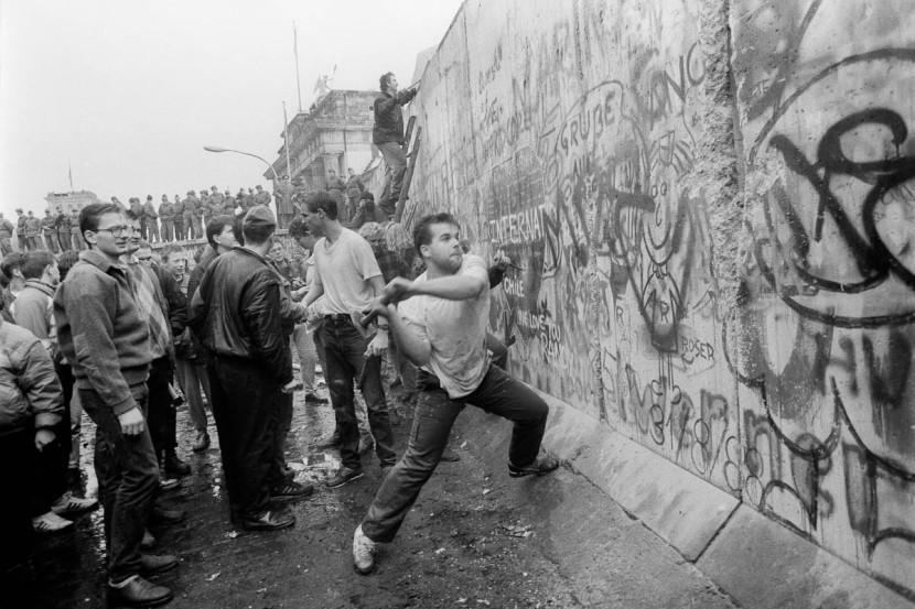 Caída del Muro de Berlín. /WEB