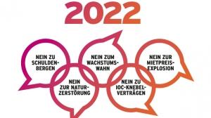 Imatge de la campanya contra el Jocs