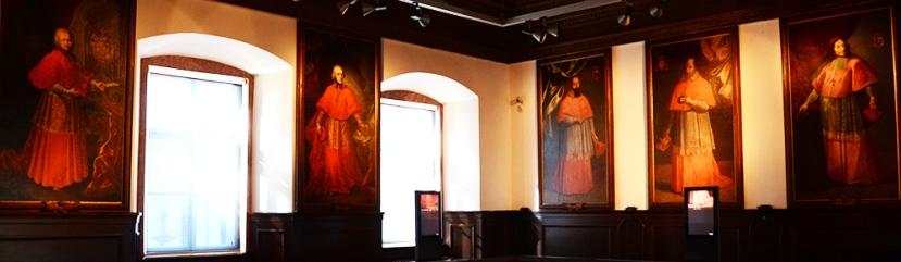 Princeps arquebisbes, al museu