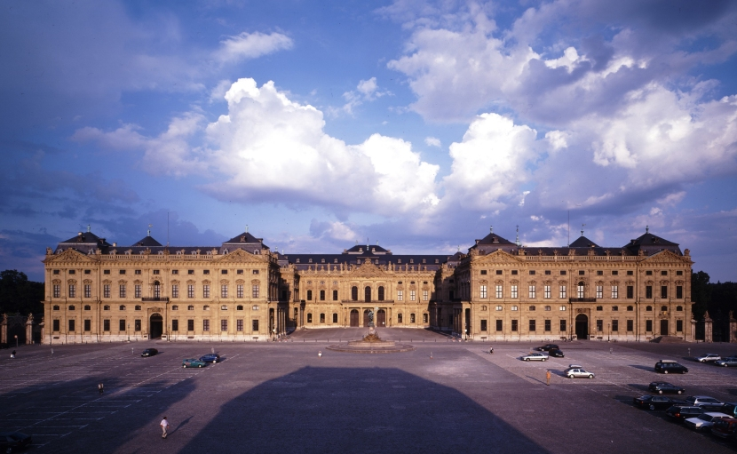Residencia de Wurzburgo. /BAYERISCHES SCHLÖSSVERWALTUNG A. BRANDL