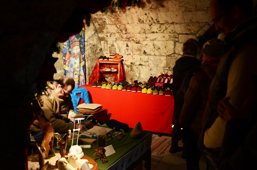 Artesano en el mercadillo de Kufstein