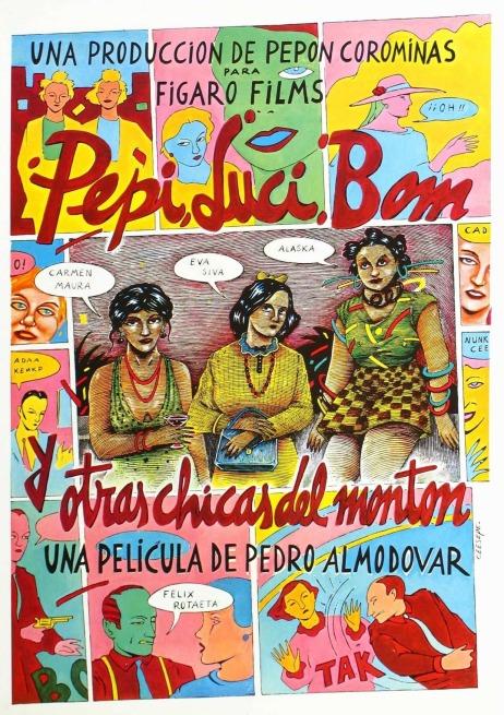 Cartell de Pepi, Luci, Bom, y otras chicas del montón