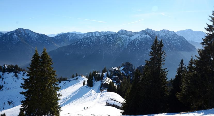 Els Alps amb la Pürschlinghaus en primer terme