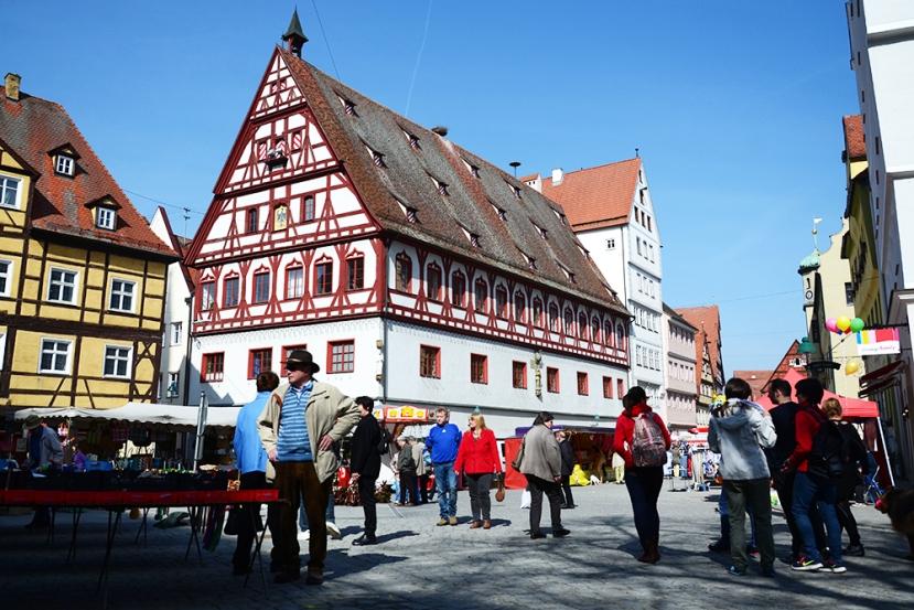 El centro de Nördlingen