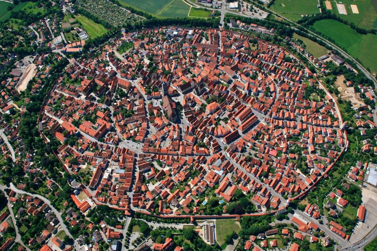 Nördlingen desde el aire. /M. TOURISMUS