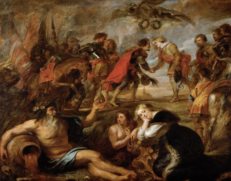 'La victoria de los dos Fernandos (1935, de Rubens). /W'IKIPEDIA