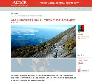 Captura del reportatge a Altaïr. /WEB