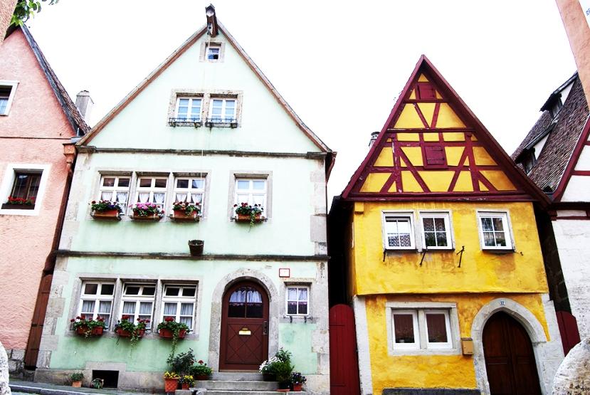 Casas en Rothenburg ob der tauber