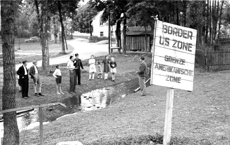 Frontera al 1949. /VIQUIPÈDIA CC