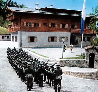 El hotel durante el Tercer Reich. /H. ZUM TÜRKEN