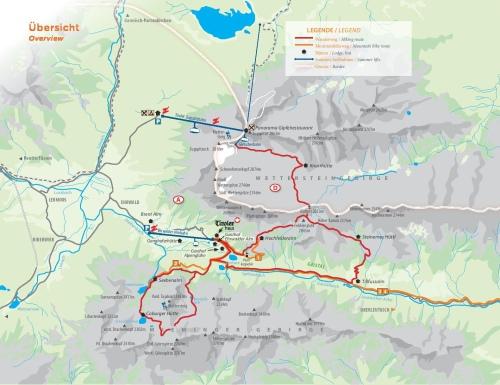 Rutas de senderismo y en bici desde la Ehrwalder Alm. Esta vez elegimos el Seebensee, aunque nuestra ruta fue desde el mismo pueblo sin usar remonte. /EHRWALDER BAHN
