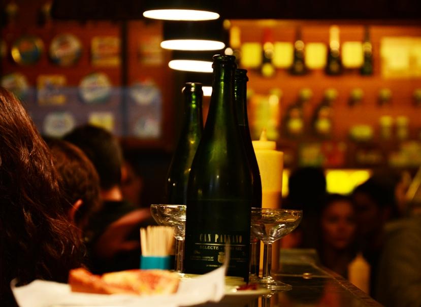 La Xampanyeria de Barcelona, no el Palau de Múnich