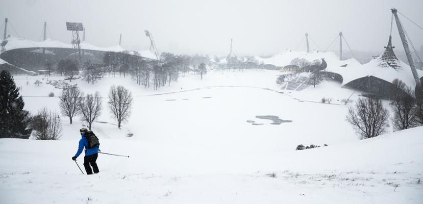 Esquí al parc