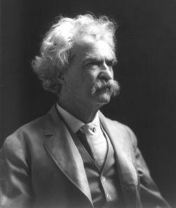 Mark Twain, que ben plantat
